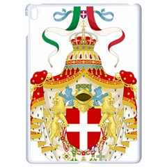 Coat Of Arms Of The Kingdom Of Italy Apple Ipad Pro 9 7   White Seamless Case