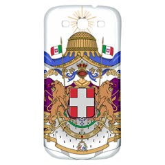 Greater Coat Of Arms Of Italy, 1870 1890  Samsung Galaxy S3 S Iii Classic Hardshell Back Case by abbeyz71