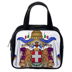 Greater Coat Of Arms Of Italy, 1870 1890 Classic Handbags (one Side) by abbeyz71