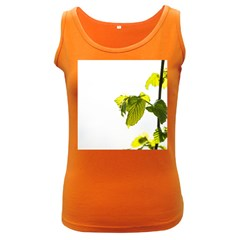Leaves Nature Women s Dark Tank Top