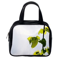 Leaves Nature Classic Handbags (one Side) by Nexatart