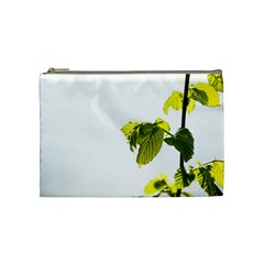 Leaves Nature Cosmetic Bag (medium)  by Nexatart
