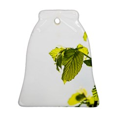 Leaves Nature Bell Ornament (two Sides) by Nexatart
