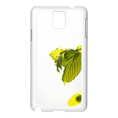Leaves Nature Samsung Galaxy Note 3 N9005 Case (white)