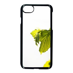 Leaves Nature Apple Iphone 7 Seamless Case (black)