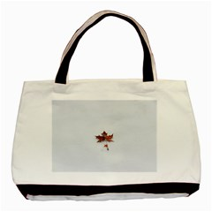 Winter Maple Minimalist Simple Basic Tote Bag by Nexatart