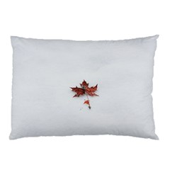 Winter Maple Minimalist Simple Pillow Case (two Sides) by Nexatart
