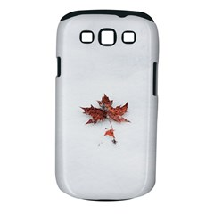 Winter Maple Minimalist Simple Samsung Galaxy S Iii Classic Hardshell Case (pc+silicone) by Nexatart