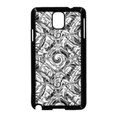 Gray Scale Pattern Tile Design Samsung Galaxy Note 3 Neo Hardshell Case (black)