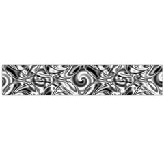 Gray Scale Pattern Tile Design Flano Scarf (large) by Nexatart