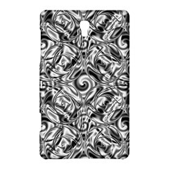 Gray Scale Pattern Tile Design Samsung Galaxy Tab S (8 4 ) Hardshell Case  by Nexatart