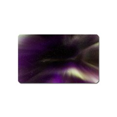 The Northern Lights Nature Magnet (name Card) by Nexatart