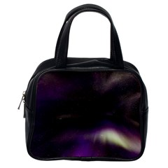 The Northern Lights Nature Classic Handbags (one Side) by Nexatart