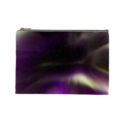 The Northern Lights Nature Cosmetic Bag (large)  by Nexatart