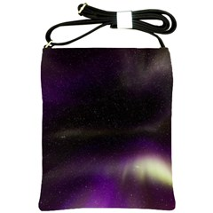 The Northern Lights Nature Shoulder Sling Bags by Nexatart