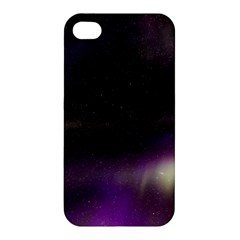 The Northern Lights Nature Apple Iphone 4/4s Hardshell Case by Nexatart