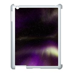 The Northern Lights Nature Apple Ipad 3/4 Case (white) by Nexatart