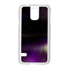 The Northern Lights Nature Samsung Galaxy S5 Case (white)