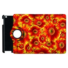 Gerbera Flowers Nature Plant Apple Ipad 2 Flip 360 Case by Nexatart