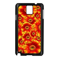 Gerbera Flowers Nature Plant Samsung Galaxy Note 3 N9005 Case (black) by Nexatart