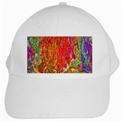 Background Texture Colorful White Cap by Nexatart