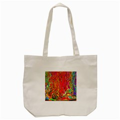 Background Texture Colorful Tote Bag (cream)