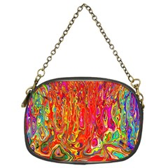 Background Texture Colorful Chain Purses (two Sides)  by Nexatart