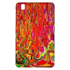 Background Texture Colorful Samsung Galaxy Tab Pro 8 4 Hardshell Case by Nexatart