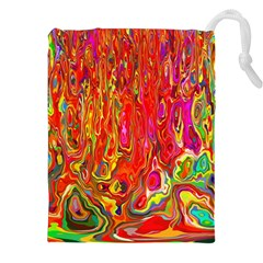 Background Texture Colorful Drawstring Pouches (xxl) by Nexatart