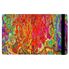 Background Texture Colorful Apple Ipad Pro 12 9   Flip Case by Nexatart