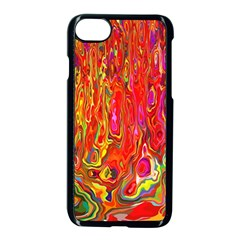 Background Texture Colorful Apple Iphone 7 Seamless Case (black)
