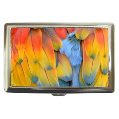 Spring Parrot Parrot Feathers Ara Cigarette Money Cases by Nexatart