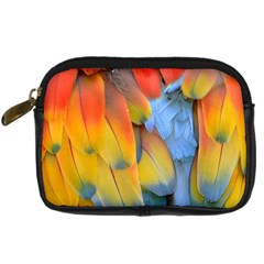 Spring Parrot Parrot Feathers Ara Digital Camera Cases