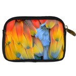 Spring Parrot Parrot Feathers Ara Digital Camera Cases Back