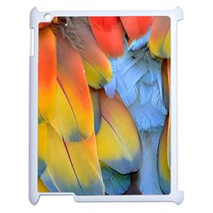 Spring Parrot Parrot Feathers Ara Apple Ipad 2 Case (white) by Nexatart