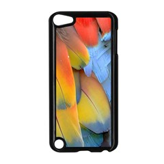 Spring Parrot Parrot Feathers Ara Apple Ipod Touch 5 Case (black)