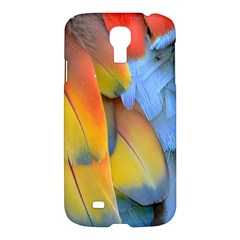 Spring Parrot Parrot Feathers Ara Samsung Galaxy S4 I9500/i9505 Hardshell Case