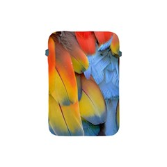 Spring Parrot Parrot Feathers Ara Apple Ipad Mini Protective Soft Cases by Nexatart