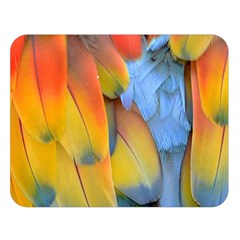Spring Parrot Parrot Feathers Ara Double Sided Flano Blanket (large)  by Nexatart
