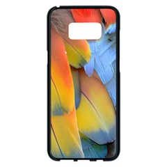 Spring Parrot Parrot Feathers Ara Samsung Galaxy S8 Plus Black Seamless Case by Nexatart