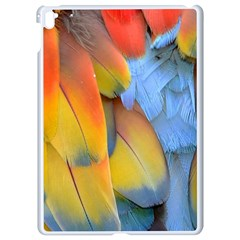 Spring Parrot Parrot Feathers Ara Apple Ipad Pro 9 7   White Seamless Case