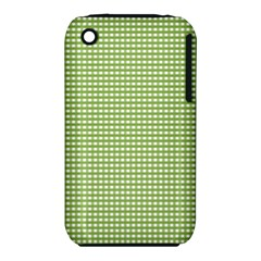 Gingham Check Plaid Fabric Pattern Iphone 3s/3gs