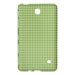 Gingham Check Plaid Fabric Pattern Samsung Galaxy Tab 4 (7 ) Hardshell Case  by Nexatart