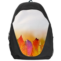 Autumn Leaves Colorful Fall Foliage Backpack Bag