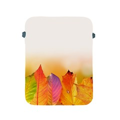 Autumn Leaves Colorful Fall Foliage Apple Ipad 2/3/4 Protective Soft Cases by Nexatart