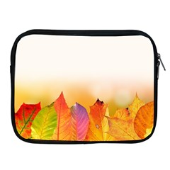Autumn Leaves Colorful Fall Foliage Apple Ipad 2/3/4 Zipper Cases by Nexatart