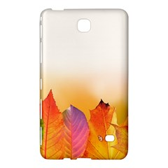 Autumn Leaves Colorful Fall Foliage Samsung Galaxy Tab 4 (7 ) Hardshell Case  by Nexatart