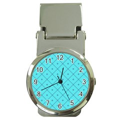 Pattern Background Texture Money Clip Watches