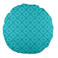 Pattern Background Texture Large 18  Premium Flano Round Cushions