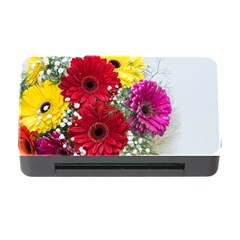 Flowers Gerbera Floral Spring Memory Card Reader With Cf by Nexatart